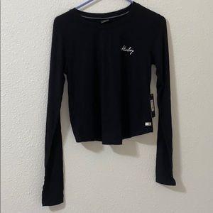 Black Hurley long sleeve